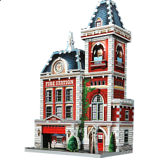 Urbania - Fire Station - 101-499 Pieces