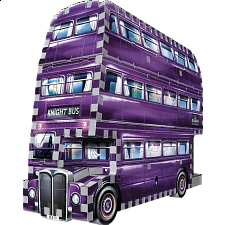 Harry Potter: The Knight Bus - Wrebbit 3D Jigsaw Puzzle - 101-499 Pieces
