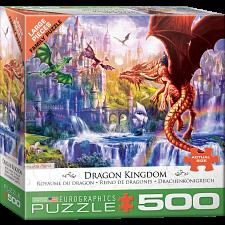 Dragon Kingdom - Large Piece Jigsaw Puzzle -