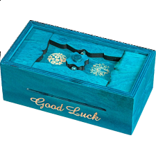 Secret Box - Good Luck - Puzzle Boxes / Trick Boxes