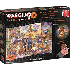 Wasgij Back to...? #3: Barbers and Beehives? - Wasgij