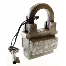 Antique Puzzle Lock 'D' - Search Results