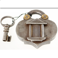 Antique Puzzle Lock 'G' - Search Results