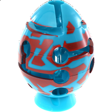 Smart Egg Labyrinth Puzzle - Zig Zag -