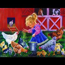 Little Farm Girl - Jigsaws