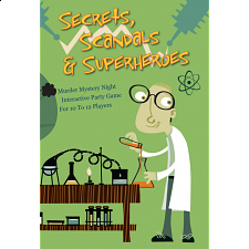 Murder Mystery Game: Secrets, Scandals & Superheroes -
