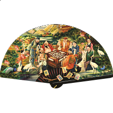 The Eight Immortals Play Mah Jongg - Shaped Puzzle - New Items