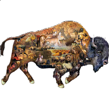 Prairie Dweller - Shaped Puzzle - New Items