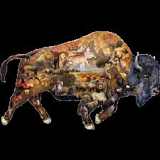 Prairie Dweller - Shaped Puzzle - Shaped