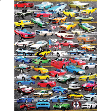 50 Years of Mustangs - 500-999 Pieces