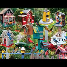 Birdhouse Village - Jigsaws