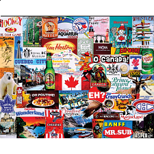 I Love Canada - 1000 Pieces