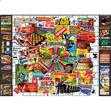 Games We Loved - Family Time Puzzle - 101-499 Pieces