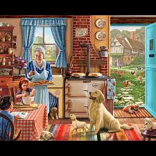 Cozy Kitchen - Large Piece Format - 101-499 Pieces