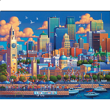 Montreal - 1000 Pieces