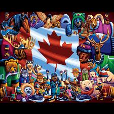 Animals Of Canada - 1000 Pieces