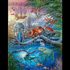 Holographic Puzzle: Shangri-La Winter - 1000 Pieces