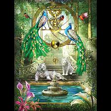 Holographic Puzzle: Mystic Garden - 1000 Pieces