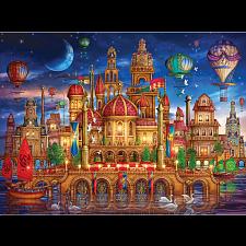 Holographic Puzzle: Downtown - 1000 Pieces