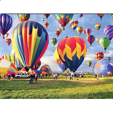 Colorluxe: Balloon Take Off - Jigsaws