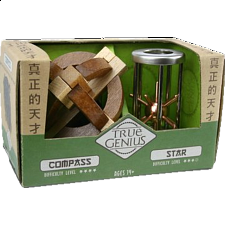 Compass & Star - Other Wood Puzzles