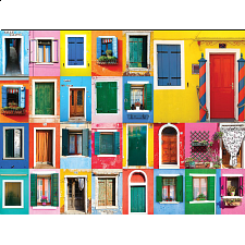 Colorluxe: Colorful Doors - 500-999 Pieces