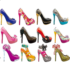 Shoes: 12 Mini Shaped Puzzles - Jigsaws