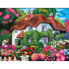 Puzzle Collector Art: Flower Cottage - 1000 Pieces