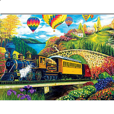 Puzzle Collector Art: Country Express - 1000 Pieces