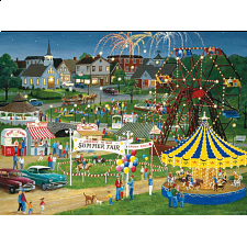 Puzzle Collector Art: Country fair - New Items