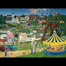 Puzzle Collector Art: Country fair - 1000 Pieces