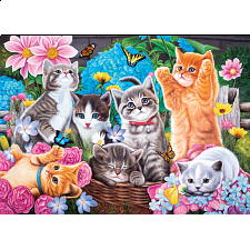Puzzle Collector Art: Playtime In The Garden - 1000 Pieces