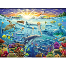 Puzzle Collector Art: Ocean of Life - New Items