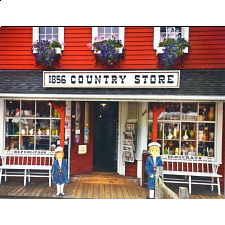 Colorluxe: Country Store, Cape Cod, Massachusetts - 101-499 Pieces