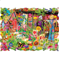 Beautiful Borders: The Scarecrow's Garden - Jigsaws
