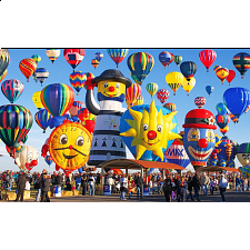 Colorluxe: Fun Shaped Hot Air Balloons - 1001 - 5000 Pieces