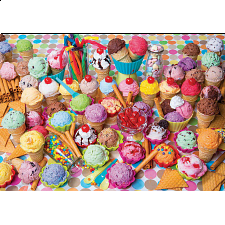 Colorluxe: Variety of Colorful Ice Cream - 1001 - 5000 Pieces