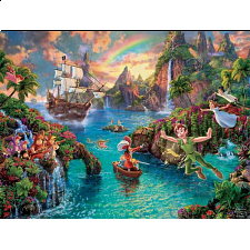 Thomas Kinkade: Disney - Peter Pan's Neverland - Search Results