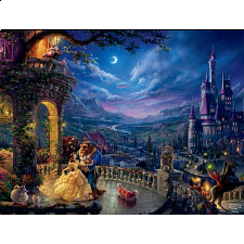 Thomas Kinkade: Disney - Beauty and the Beast Dancing - Search Results