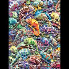 Colors: Chameleons - Jigsaws
