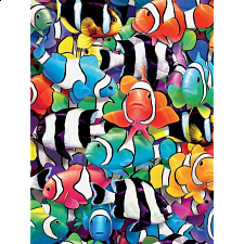 Colors: Clown Fish - Jigsaws