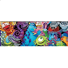 Disney Panoramic: Monsters - 500-999 Pieces