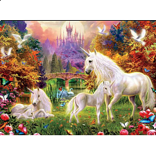 Unicorns: The Castle Unicorns - Jigsaws