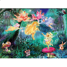Forest Fairies: Fairy Ring of Six - 1-100 Pieces