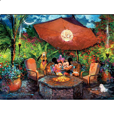 Disney Fine Art: Coleman's Paradise - 1000 Pieces