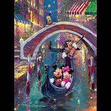 Disney Fine Art: Moonlight In Venice - 1000 Pieces