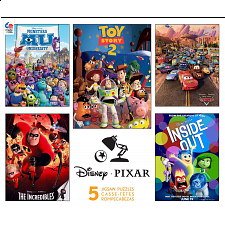 Disney Pixar: 5 in 1 Jigsaw Puzzle Collection - 101-499 Pieces