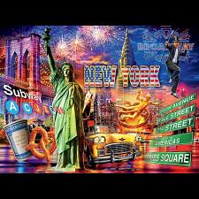 Cities: New York - 1000 Pieces