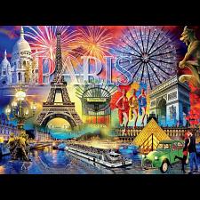Cities: Paris - 1000 Pieces