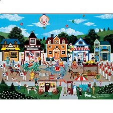 Jane Wooster Scott: Circus Pandemonium - Large Pieces - Jigsaws